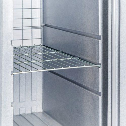 Contenitori refrigerati, ripiano acciaio inossidabile