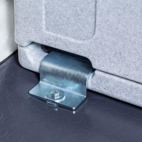 Contenitori refrigerati, kit di fissaggio