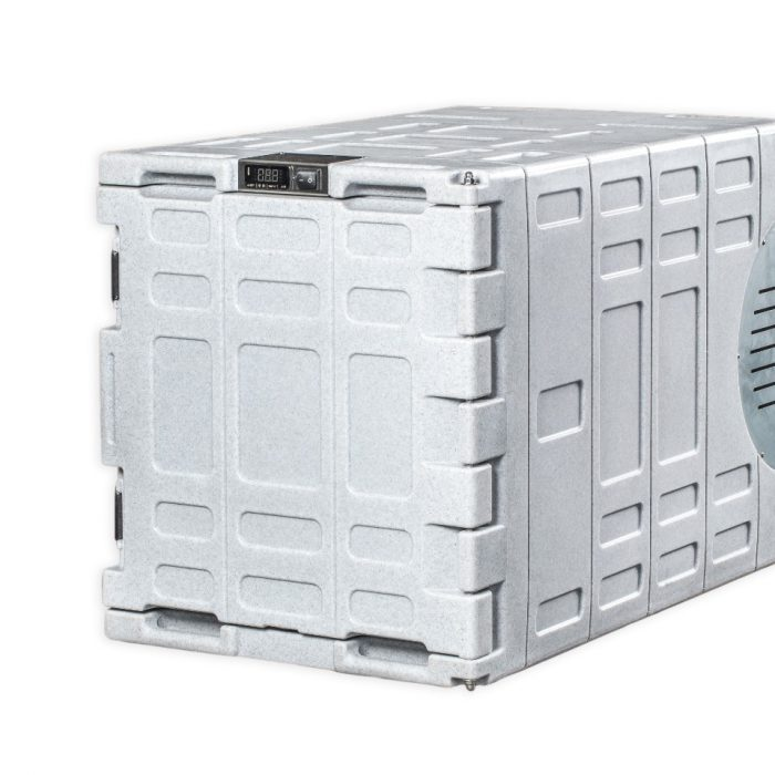 Contenitore refrigerato da 140 litri