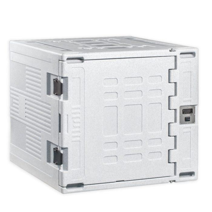 Doppio contenitore refrigerato da 330 litri